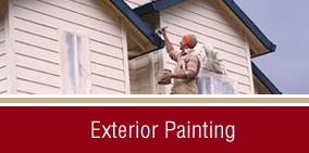 Man Painting House - Home Painting